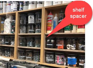 shelf spacer